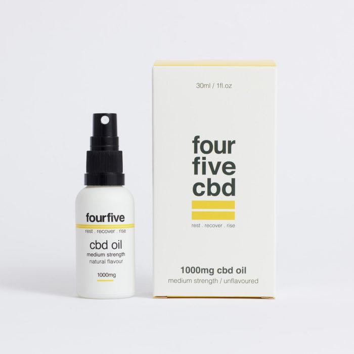 1000mg CBD Oil -100% Natural CBD Free Delivery | fourfivecbd