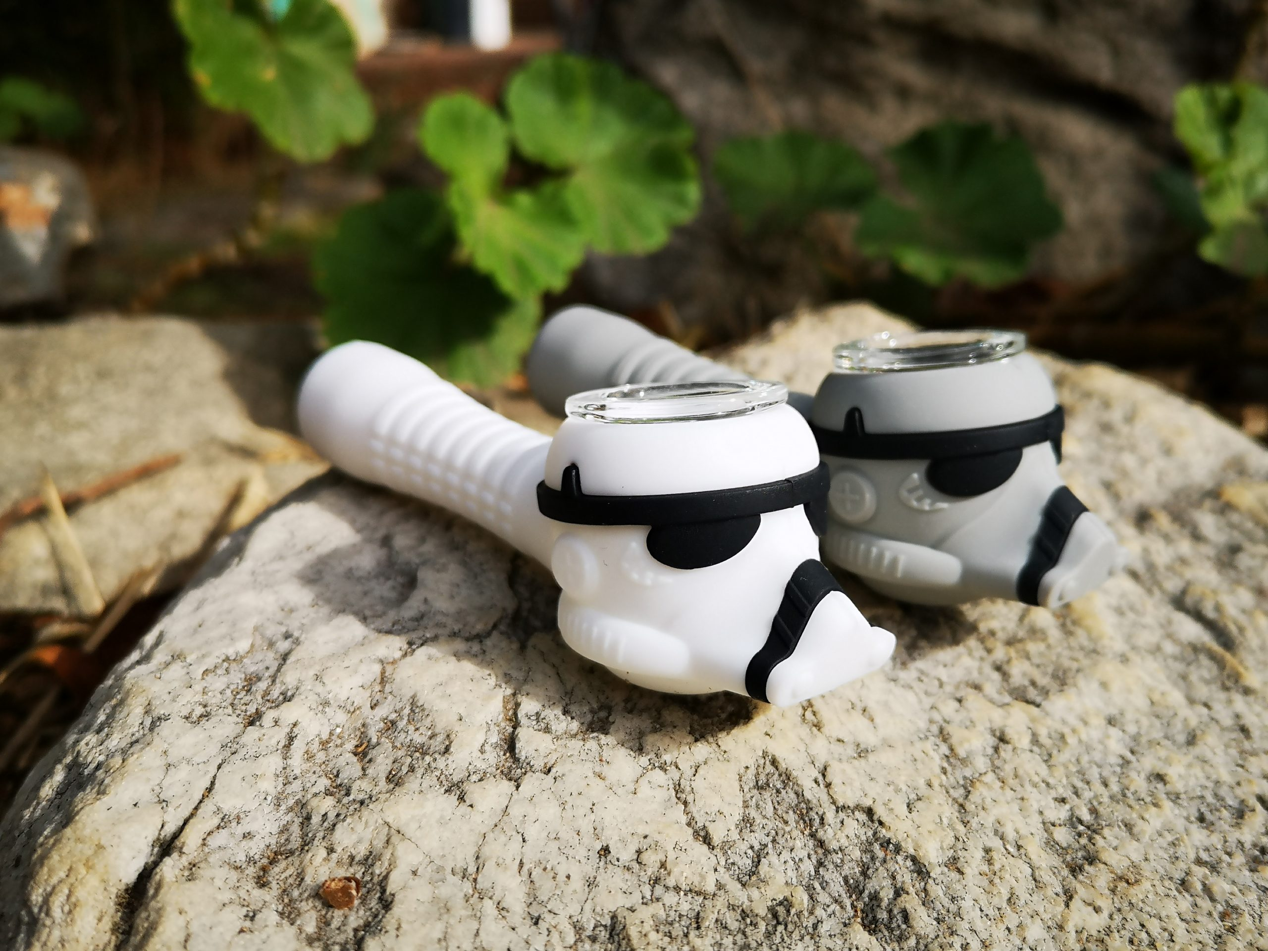 Stormtrooper Smoker - Silicone Pipe